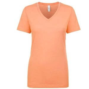 Women orange tees